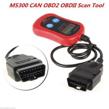 Ms300 Obd2 Obdii Can Scanner Car Code Reader Data Tester ...
