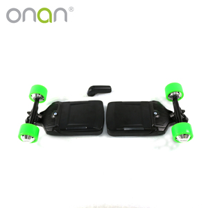 Best quality wireless four wheels electric skateboard 1000w