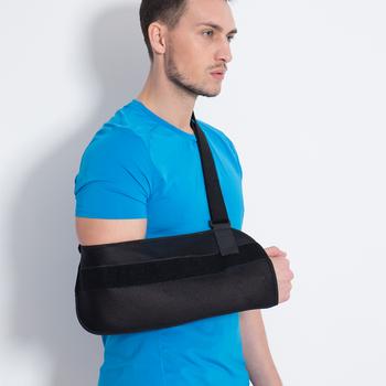 Honda brazo médica cabestrillo de brazo roto y los huesos fracturados-brazo  ajustable hombro y 96a68a1a1a9b