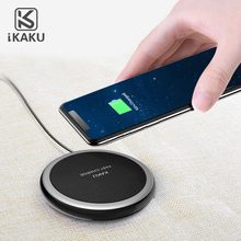 High Quality 3 Coils Qi Wireless Charging Pad Fast Wireless Charger for iPhone X and Qi-enabled Devices