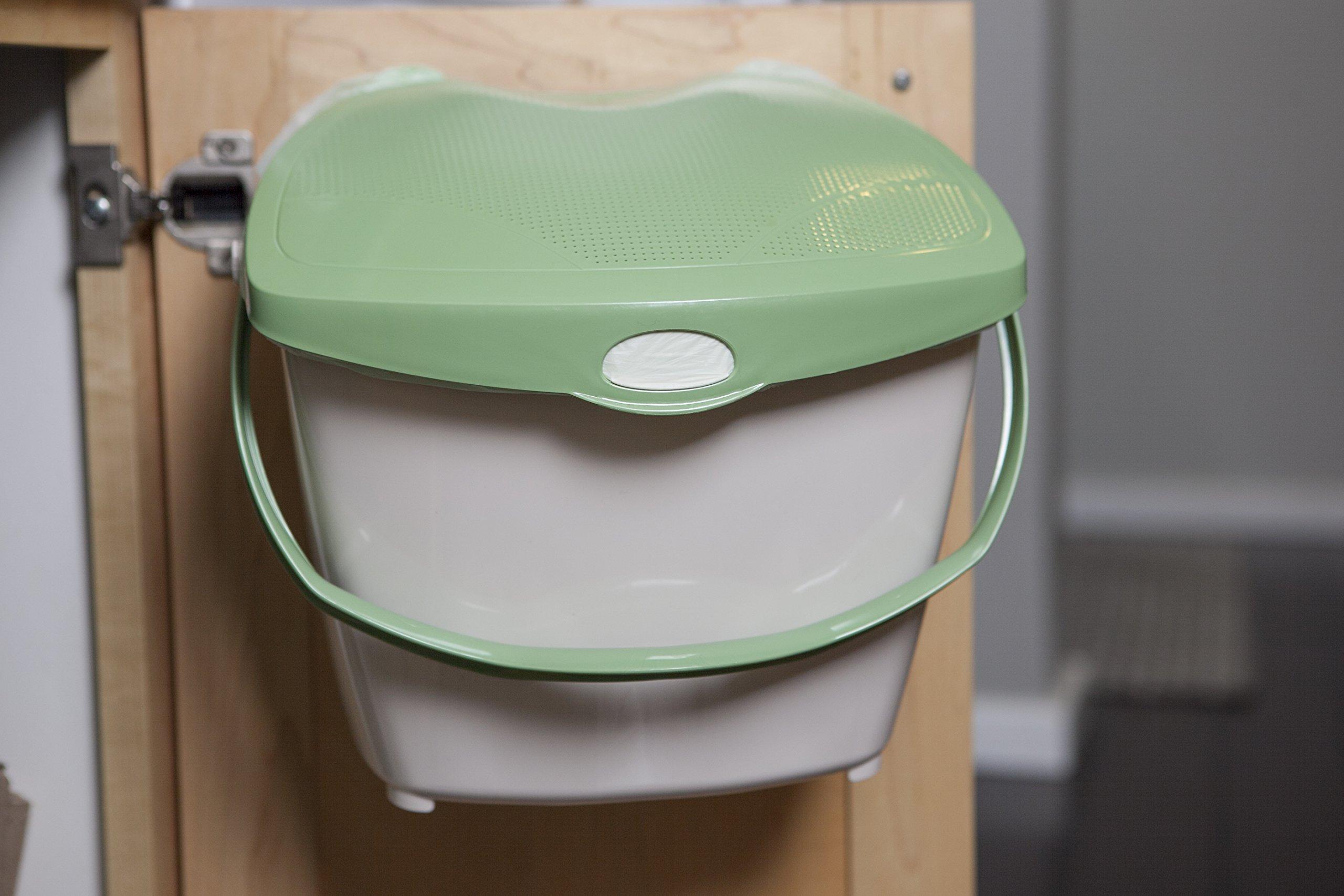 Mountable Kitchen Compost Bin