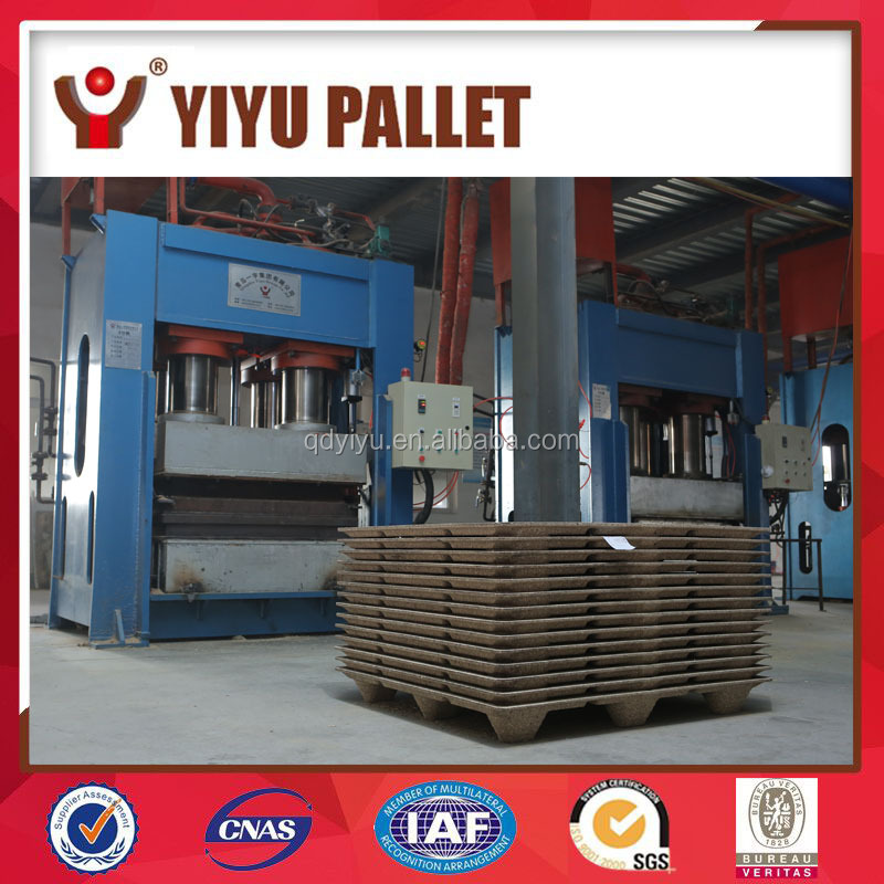 Hydraulic wood pallet making machine/wooden pallet making production line