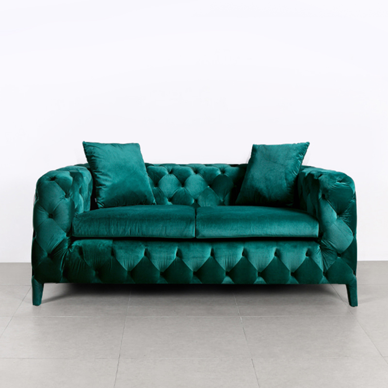 Luxury Italian Furniture Tufted Green