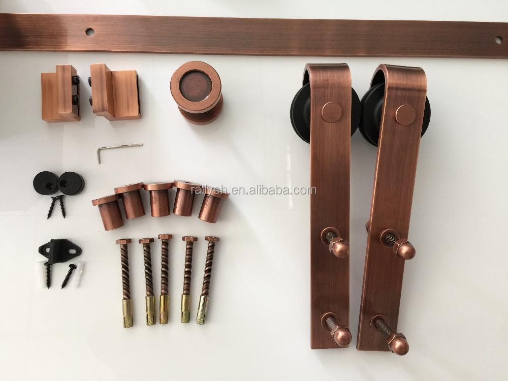 Schiebetür außen garage  Modernen Schiebetüren Scheune/garage Holztür Hardware Innen-oder ...