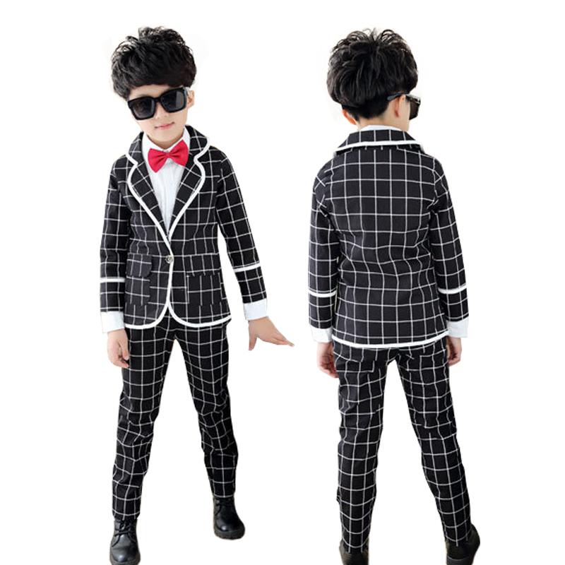 5da9b1aa871e Buy Baby boys Autumn clothing sets 3 piece Blazers jackets Jacket+ ...