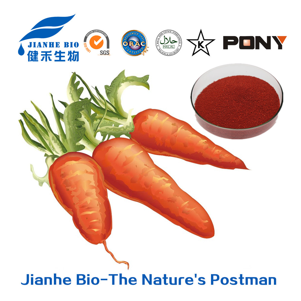 Manufacturer supply 10%-30% beta carotene / carrot extract on sale