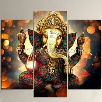 Indian S 3panel Or 5 Panel Stretched Canvas Art Print Oilpainting