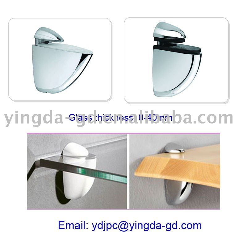 2 inch glass shelf bracket/jig/holder/panel clamp