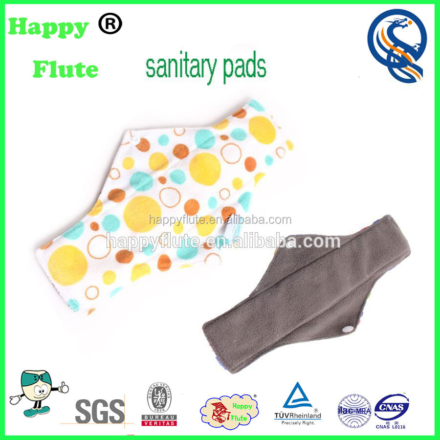 happy flute sanitary cloth napkins menstrual pads washable recycled nursing pads sanitary napkin