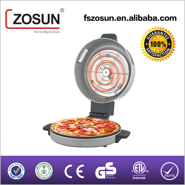 30cm good price halogen tube Pizza maker and bread maker with window