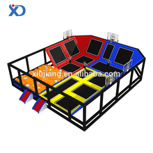 Field assembly cheap kids indoor/outdor trampoline park for sale