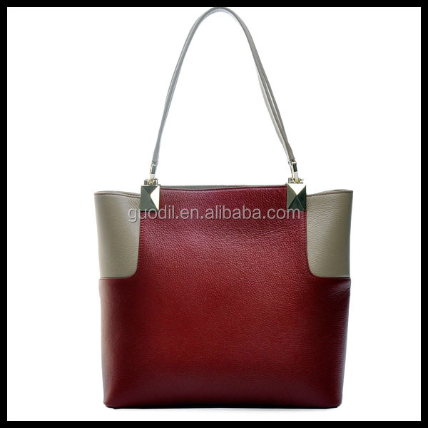 newest designer green PU leather handbags,tote bag for women