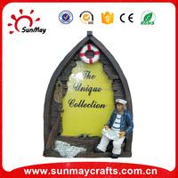 resin photo frame with souvenir sea scenery