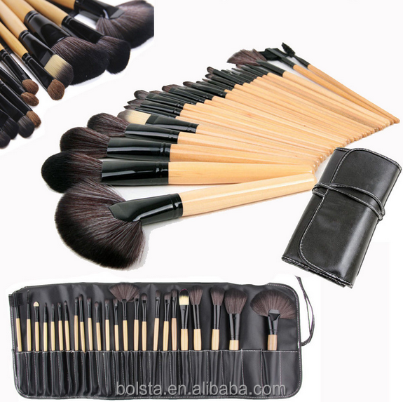 Professionele Cosmetische Beauty Tools 24 stuk Make-Up Borstel Set
