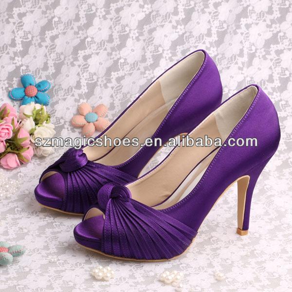 Chaussures de soirée violettes Fashion femme 2Jf3Kxpv