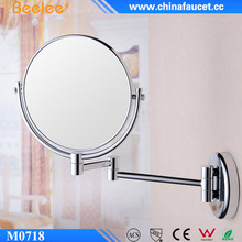 Young Lady Favorite Wall Compact Make Up Mirror With Magnifying