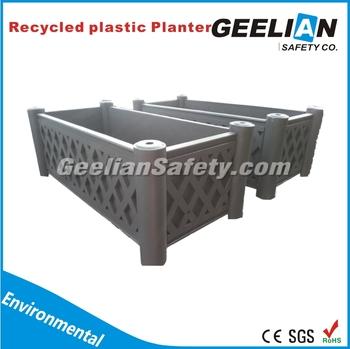 Recycled Plastic Pots And Planters Outdoor Large Plastic Plant Pots Garden  Planter Pots