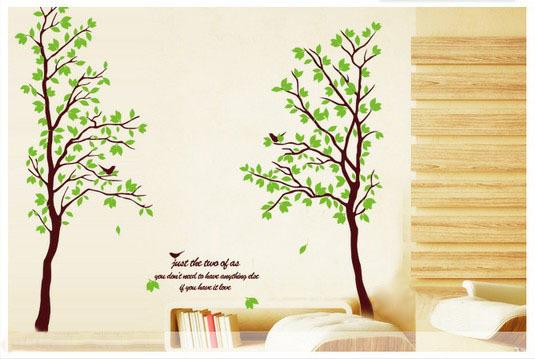 Cheap Remove Elegant Waterproof Large Wall Stickers Tree ...