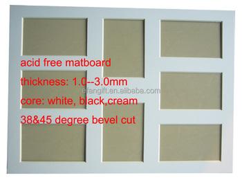45 Degree Bevel Cut Matboard Mount Board