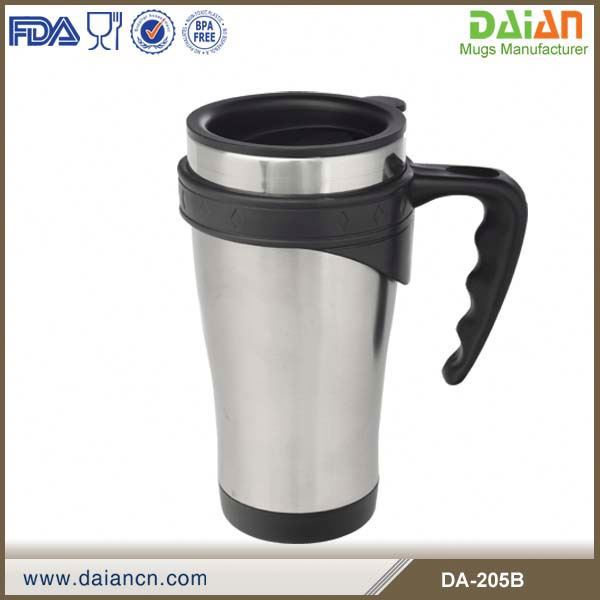 16 oz Stainless Steel Insulated Travel Mug For Fund Raising