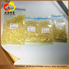 Wholesale Natural Yellow Sapphire Round cut loose gemstone on sale