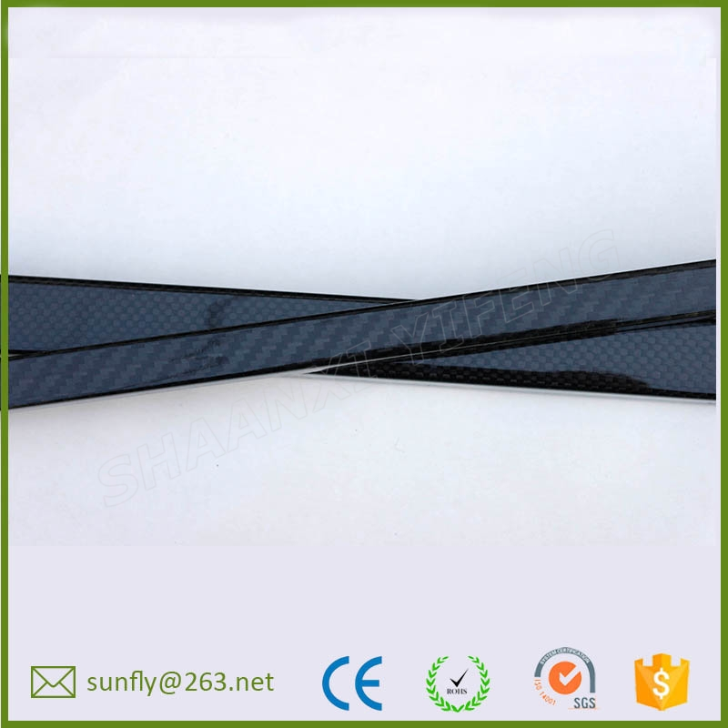china carbon fiber manufacturing/custom 3k rolled carbon fibre tube connectors/ 20mm carbon fiber tube