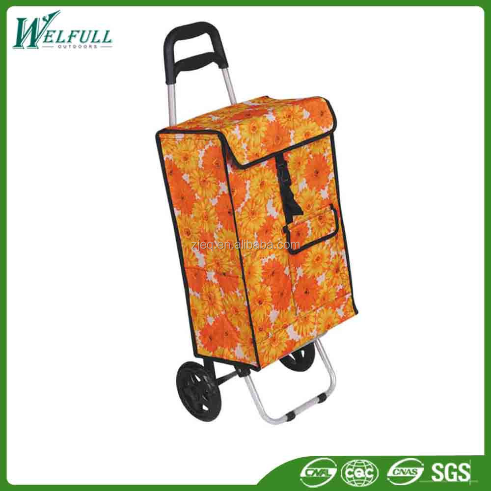 Wholesale Custom Color Cheap Fabric Shopping Carts for Seniors