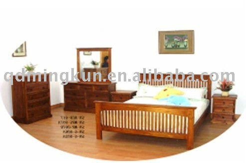pine bed room set