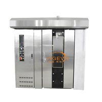 32 Tray Commercial Use Diesel Gas Electric Cake Machine Bread Cookie Biscuit Rotary Oven