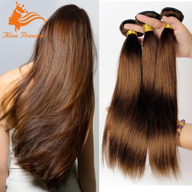 China Straight Chocolate Human Hair Weave Wholesale Alibaba