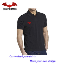Custom Logo Print Men's T shirt Uniform Polo Shirt/Polo Shirt
