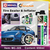 Emergency Automatic Tubeless Tire Sealer and Inflator