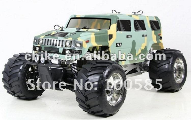 30.5cc Engine 4WD Hummer RC Truck RC Car 2.4G RTR