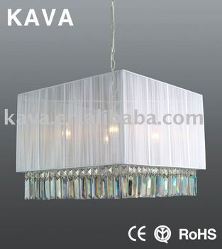 2013 Crystal Modern Square Ceiling Lamp