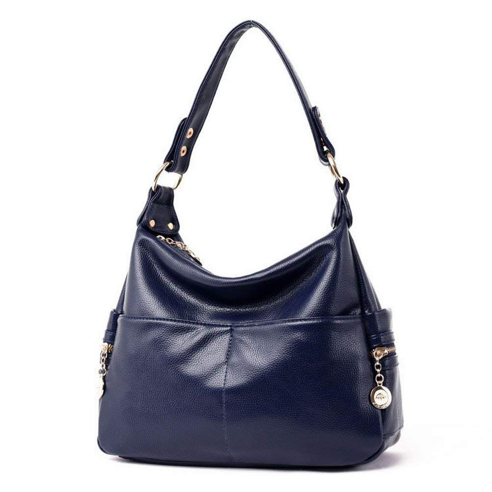 a09f4633d6 Get Quotations · The Seventh Soft Leather Shoulder Bags Hobo Style Bag