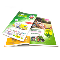 Cheap high quality a4 a5 a6 manual / journal / magazine / catalogue / brochure / flyer / leaflet printing service