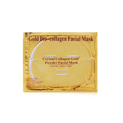Masque facial bio-collagène or pur 24K hydratant pour le visage
