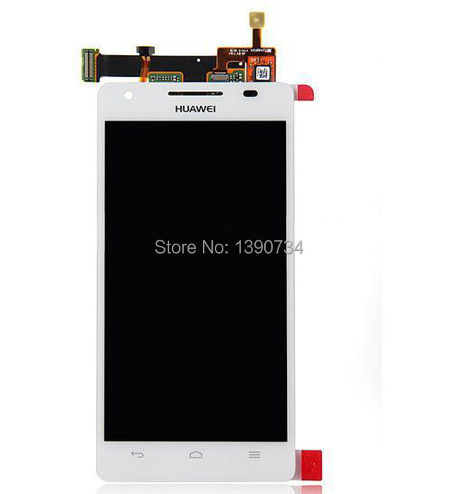 HOT Sale White Original Full LCD Display + Touch Screen Digitizer Glass Assembly For Huawei Honor 3 HN3-U01 Free Shipping