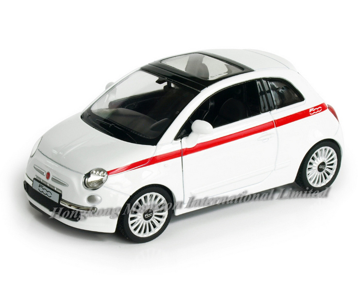 2019 1 36 Scale Alloy Diecast Metal Car Model For Fiat 500