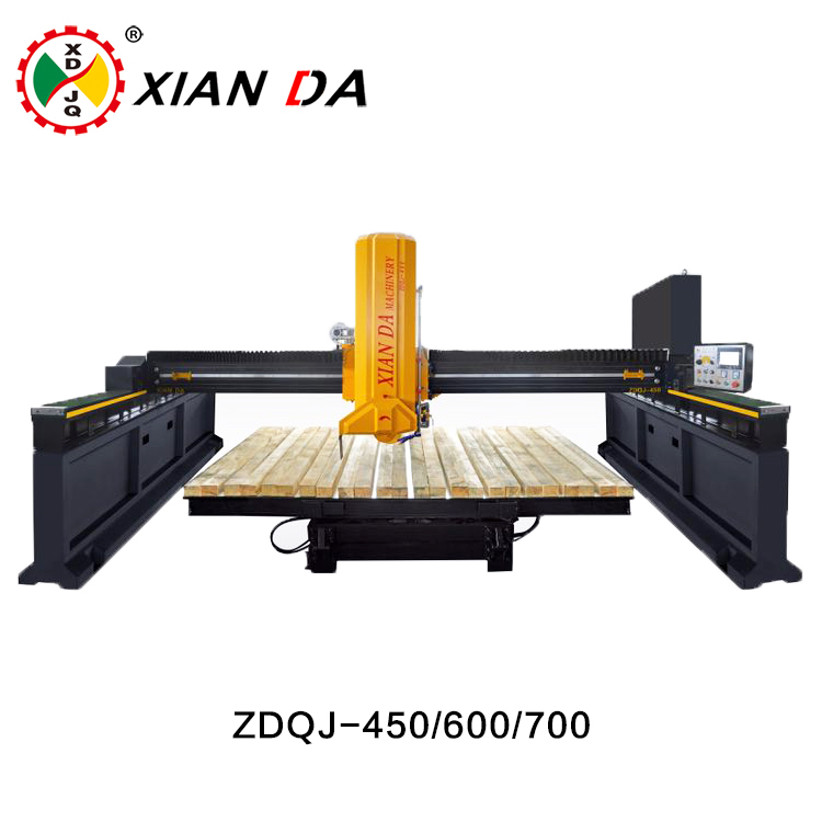 Xianda infrared bridge saw stone cutting machine bridge laser tile cutter
