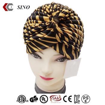 custom hair bonnet cross cap chambray satin bonnet india arabic turban  puggaree islamic hijab cap e2e756bc105b