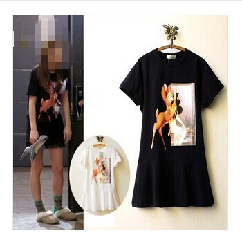 2014 women summer sophisticated dresses Casual Kpop slim ... - photo#50