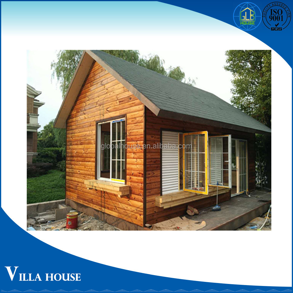 Outdoor comfortable prefabricated villa assemble