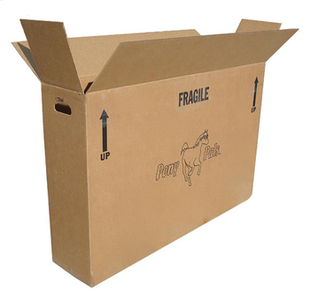 Factory FSC custom strong 5ply protector packaging cardboard bike box