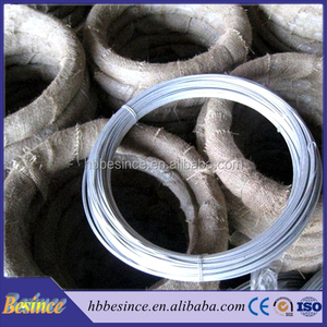 Galvanized Iron Wire 14g Manufacturing Flat Binding Wire