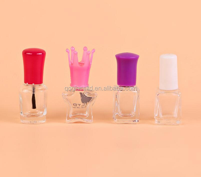 New Design Lovely Cute Animal Shape Nail Polish Bottle Five Star ...