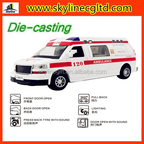 die cast model ambulance toy car,diecast models for sale