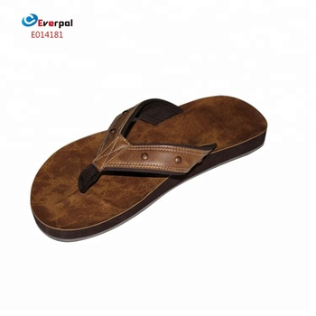7a3b58f89 Leather Chappals For Men With Eva Rubber Sole - Buy Leather ...