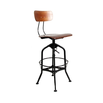 Fine Vintage Industrial Industrial Toledo Metal High Bar Chair Buy Bar Stool Chair Bar Stool High Chair Metal Bar Stool High Chair Vintage Industrial Pabps2019 Chair Design Images Pabps2019Com
