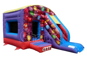 Inflatable Balloon Bouncer and Slide, Inflatable Balloon Bouncy Castle